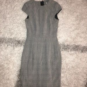 Classic gray work dress